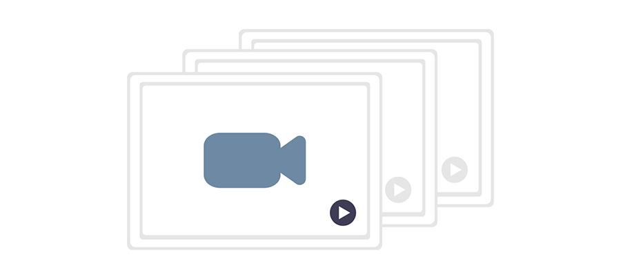 動画の画面